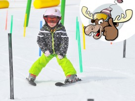 Ski course for children