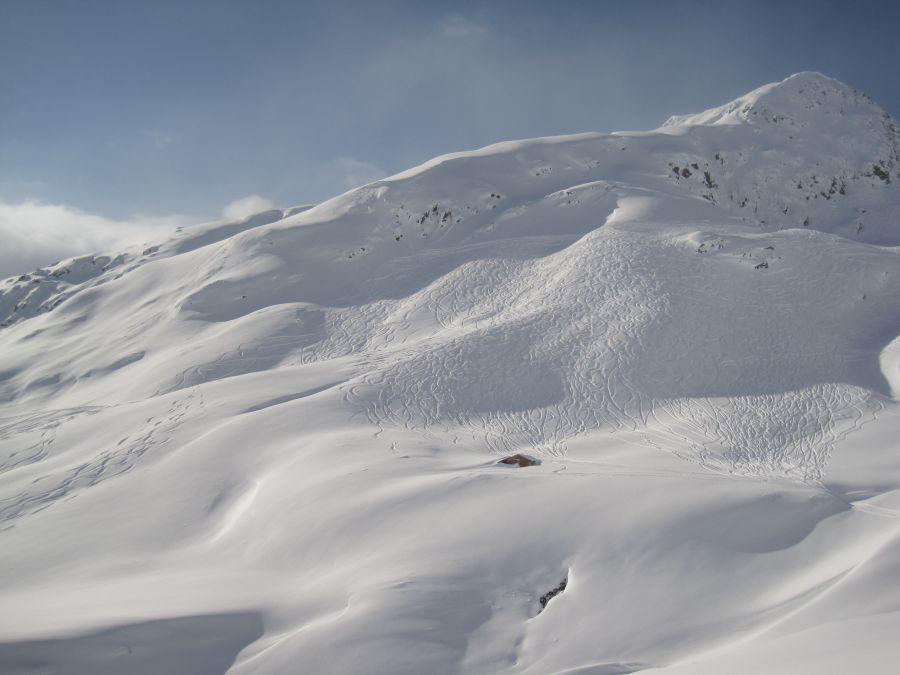 Freeriding in Stuben am Arlberg